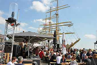 Festival Hafengeburstag do porto de Hamburgo