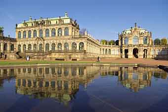 Zwinger pałac Dresden