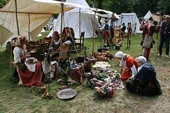 Středověký festival v Ter Apel