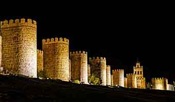 Walls, palaces and sweets in medieval Avila, Spain