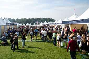Пивной фестиваль в Орхусе в Дании
