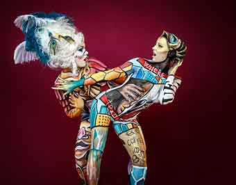 World Body Painting Festival In Klagenfurt Austria 15 17 July 2021