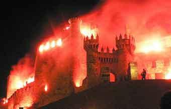 Tapınakçılar gecesi ponferrada'da