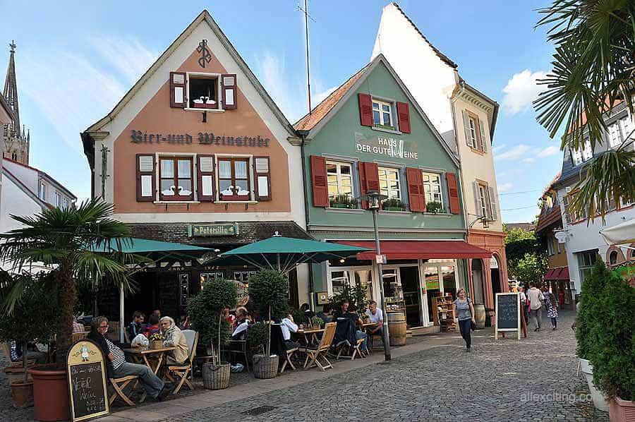 Wine festival Wurstmarkt in Bad Dürkheim, September 2020