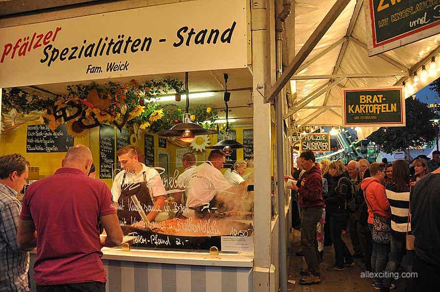 Largest Wine Festival In The World Wurstmarkt In