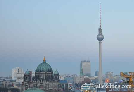 Torre televisiva di Berlino - Fernsehturm