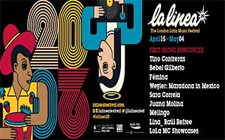 La Linea, London Latin Music Festival, online 10. - 11. april og 2. mai 2021