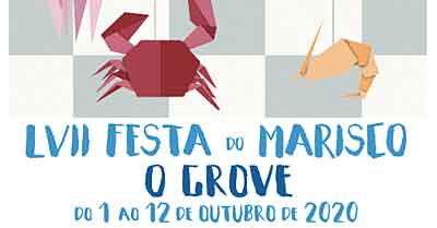 Festival de Frutos do Mar Fiesta del Marisco, O Grove, Espanha 2020