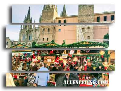 Julemarkeder Barcelona - Santa Lucia marked