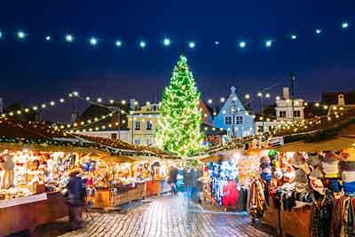 Božićna tržnica Talin, Estonija