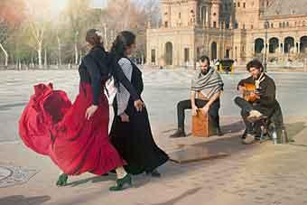 flamenco i Sevilla