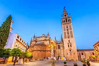 Sevilla Španělsko