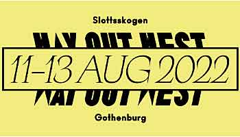 Way Out West Festival Göteborg Suède