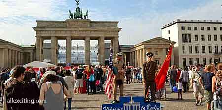 brandenburgin portti brandenburger tor