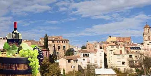 La Fira del Vi - Vinfestival i Falset, Spanien