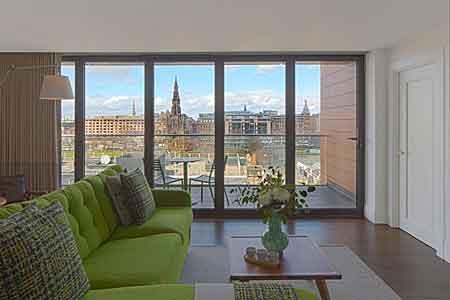 Chevalin vanhankaupungin kamarit - Edinburgh