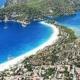 Oludeniz i Turkiet och den vackra blå lagunen